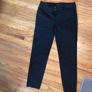 Pants - Black Loft Julie Skinny work pants